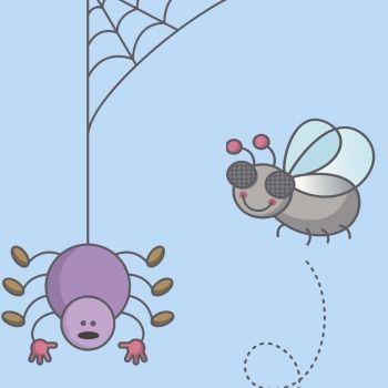 La mosca y la araña. Poema sobre la empatía para niños