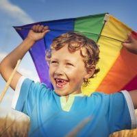 Propuestas de juegos infantiles para días de viento y aire