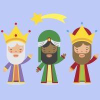 Tres burros van a Belén. Poema infantil sobre los Reyes Magos