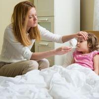 Síntomas y tratamiento de la fiebre en los niños