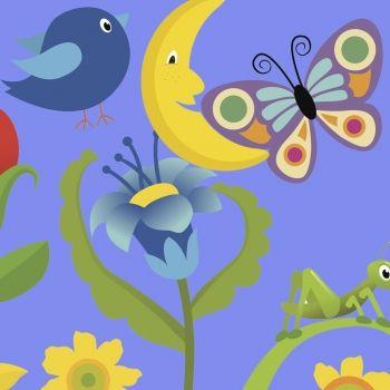 El cuco y la mariposa. Poema para niños con rima