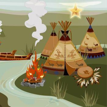 Leyenda india de cómo nació el Nenufar blanco