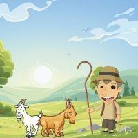 Las cabras testarudas. Cuento infantil popular de Puerto Rico