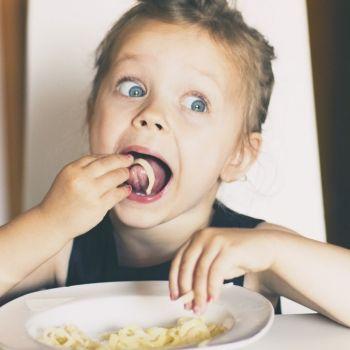 La merienda-cena para los niños