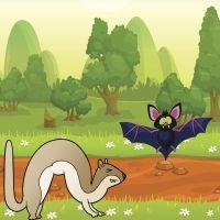 El murciélago y las comadrejas. Fábula sobre cómo adaptarse a las circunstancias para niños