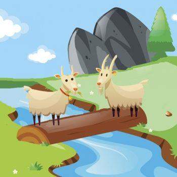 Las dos cabras