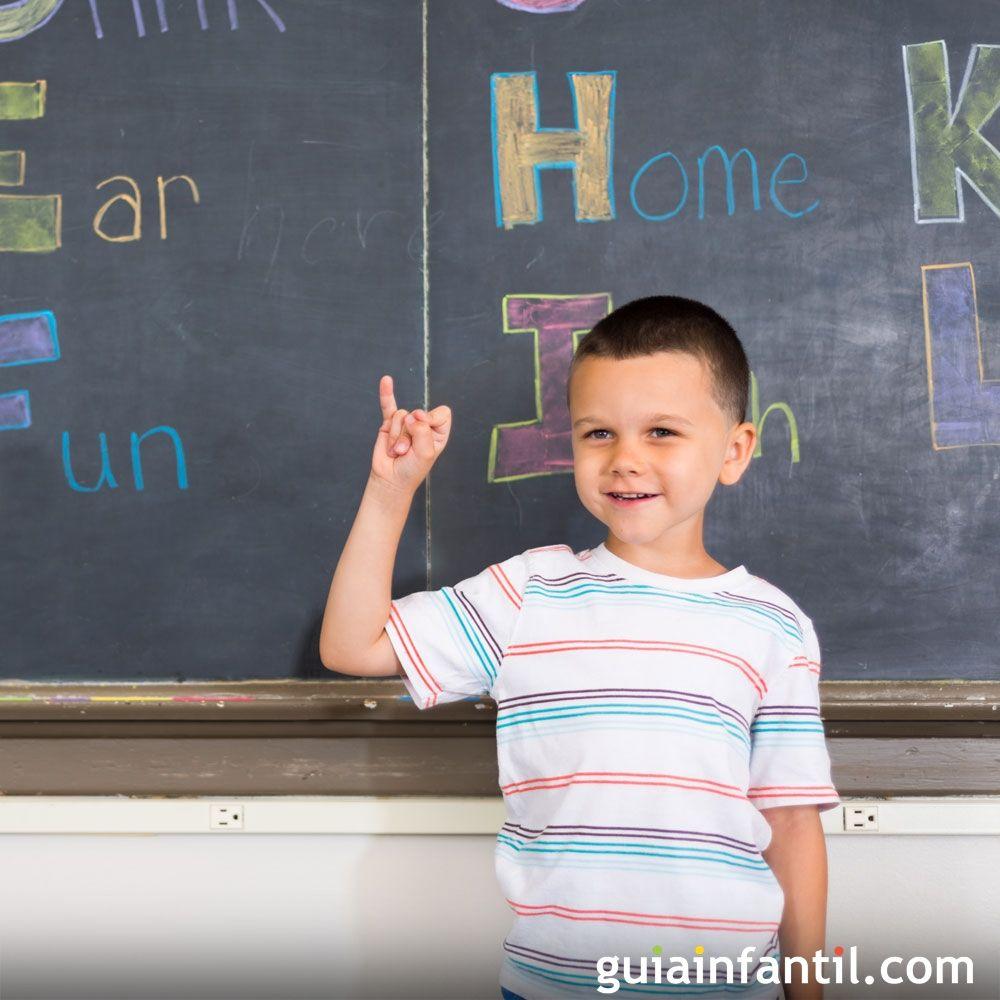 El abecedario en lenguaje de signos para los niños