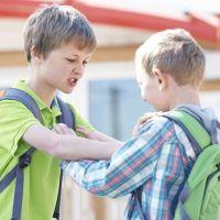 El error de enseñar al niño a defenderse pegando