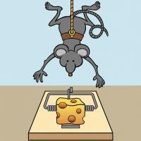El ratón vacilón. Poema divertido para niños