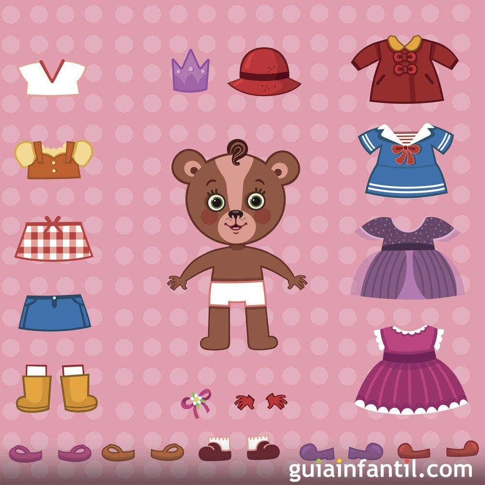 Las prendas de ropa en inglés para los niños