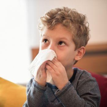 Cuidados del niño cuando tiene la gripe o un catarro