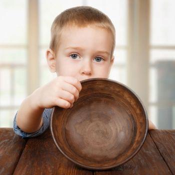 Niños que tienen hambre a todas horas