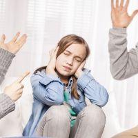 El impacto para el niño de crecer en un ambiente violento