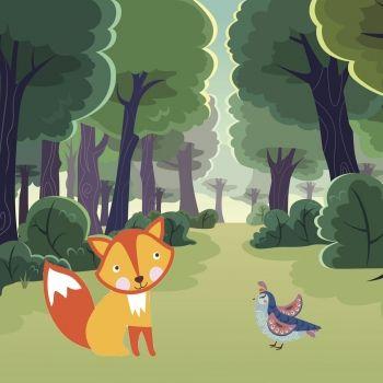 El zorro y la perdiz
