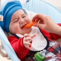Niños que no quieren comer alimentos sólidos