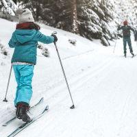 Por qué es bueno el esquí de fondo para los niños