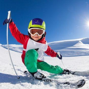 Beneficios de los deportes de nieve para los niños