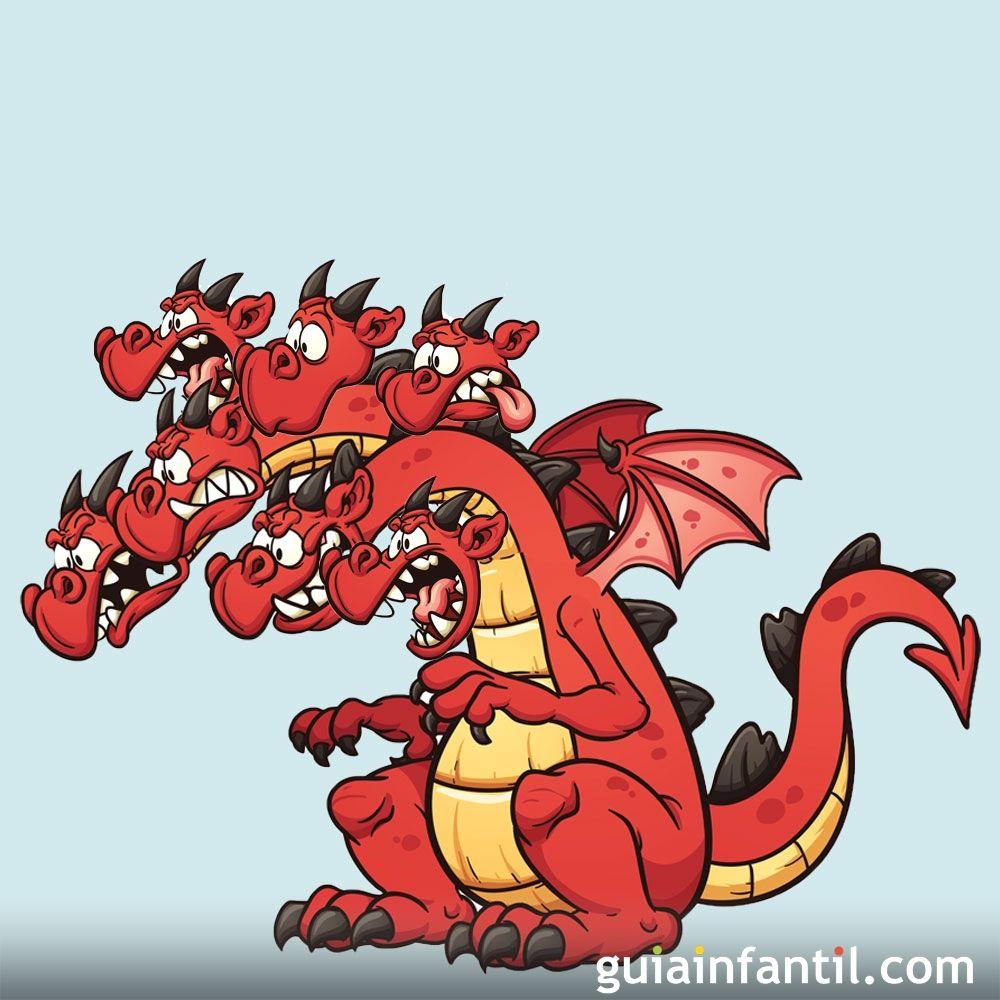 El dragón de siete cabezas. Cuento infantil sobre la sinceridad