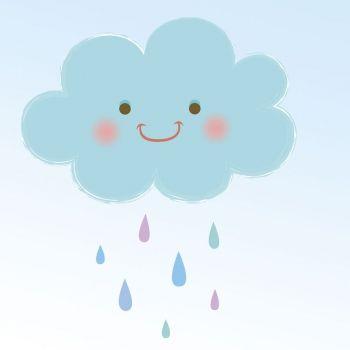 La nube de verano. Poema divertido para niños