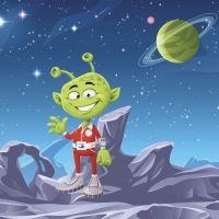 En busca del planeta. Cuentos sobre el espacio para niños