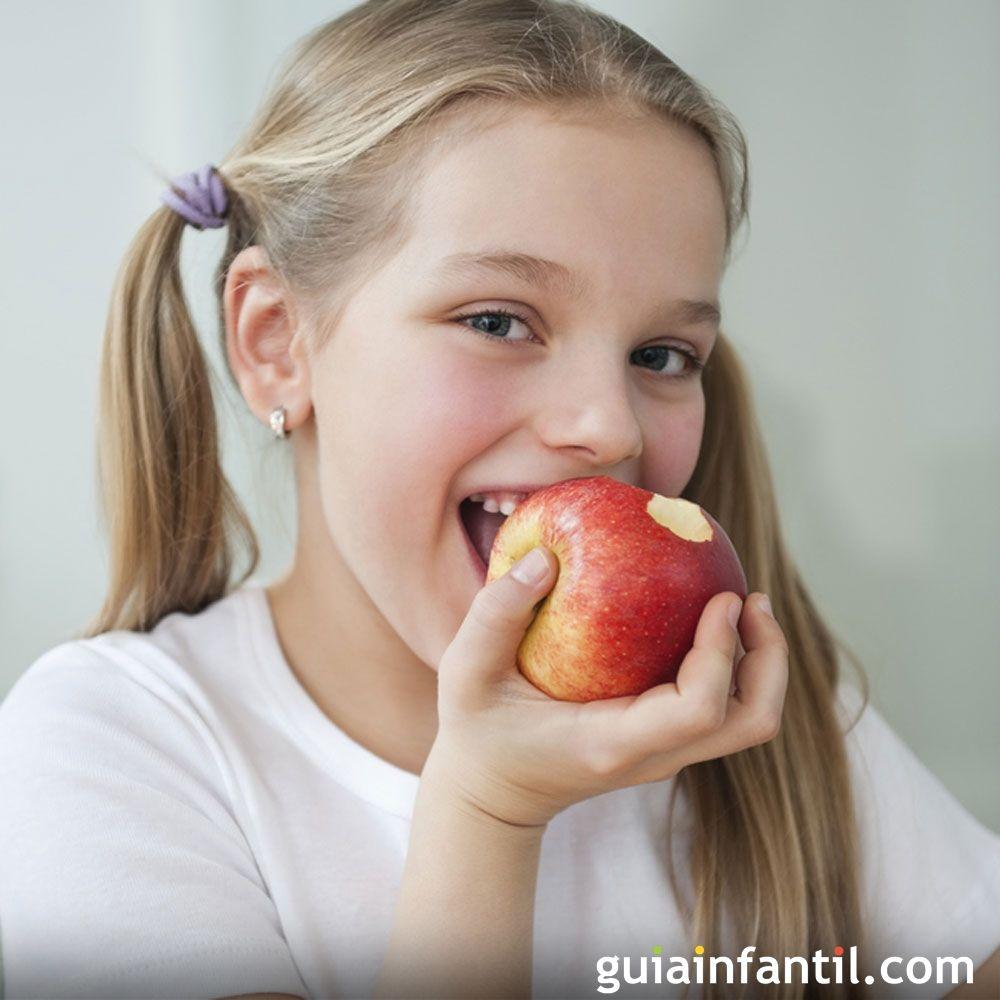 Las Frutas Y Verduras Para Ninos Mejor Con Piel