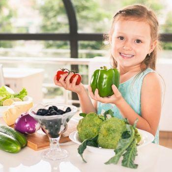 Alimentos de origen vegetal imprescindibles en la dieta mediterránea para niños