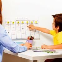 Qué son las agendas visuales para los niños con autismo