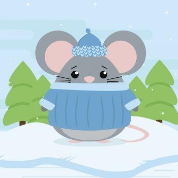 El ratoncito en la nieve. Poemas infantiles sobre la bondad