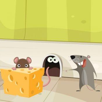 La rata. Poema para niños con mal carácter
