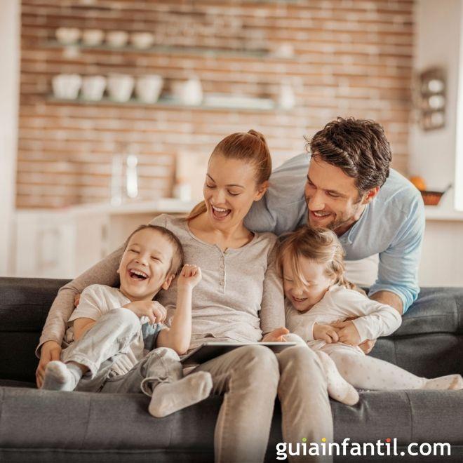 Los 24 mandamientos de la familia feliz