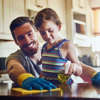 Cómo implicar a los niños en las tareas de casa