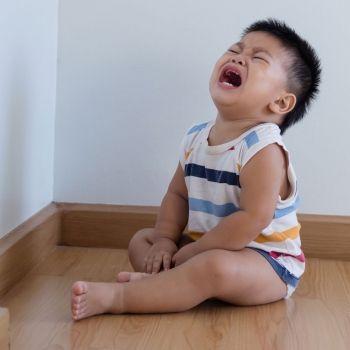 Cuando el niño es demasiado pequeño para el rincón de pensar