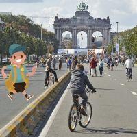 Cómo llegar y moverse por Bruselas con niños