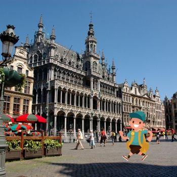 Monumentos para niños en Bruselas