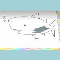 Cómo hacer, paso a paso, un dibujo de un tiburón