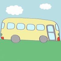 Cómo hacer, paso a paso, un dibujo de un autobús