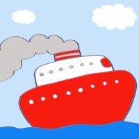 Cómo hacer, paso a paso, un dibujo de un barco