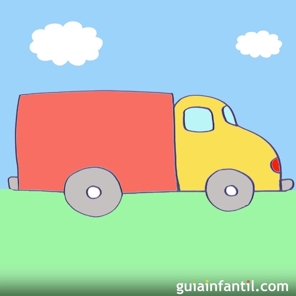 Cómo hacer, paso a paso, un dibujo de un camión