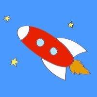 Cómo hacer, paso a paso, un dibujo de un cohete