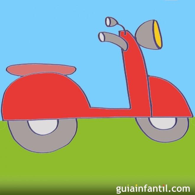 Como Hacer Paso A Paso Un Dibujo De Una Moto