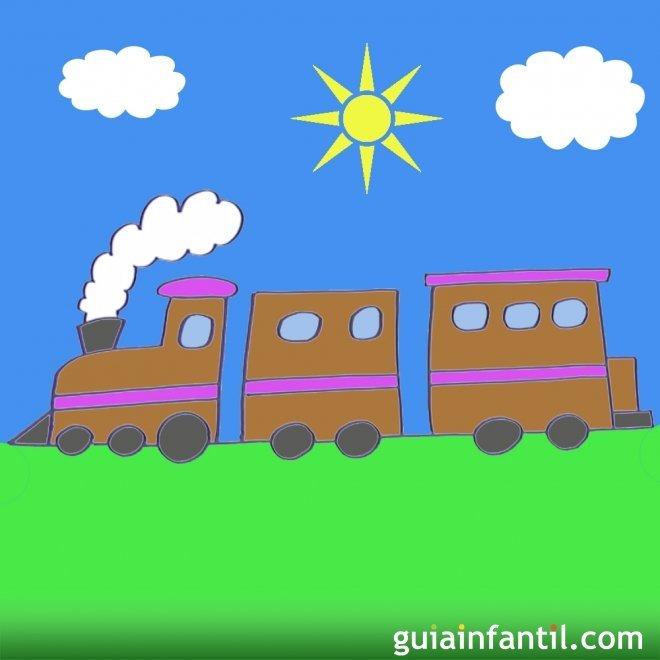 Cómo Hacer Paso A Paso Un Dibujo De Un Tren