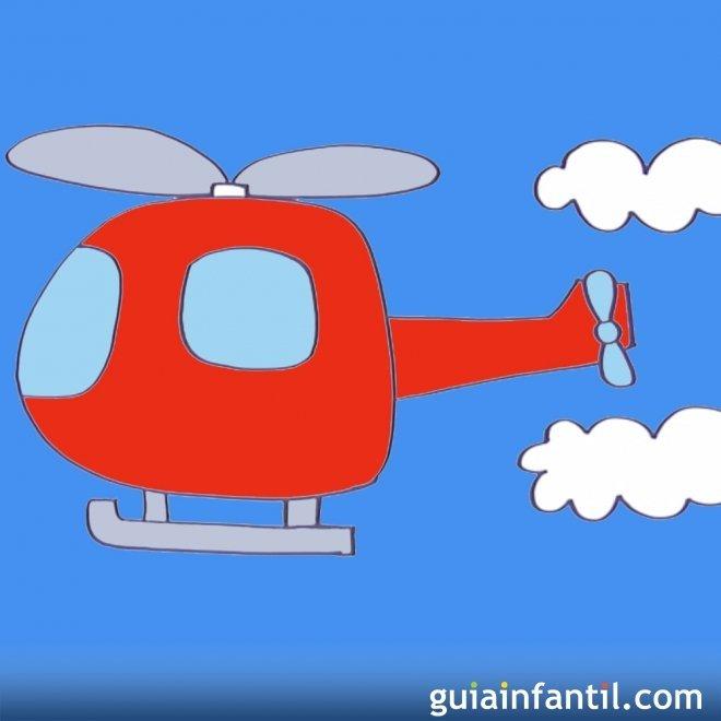 Cómo Hacer Paso A Paso Un Dibujo De Un Helicóptero