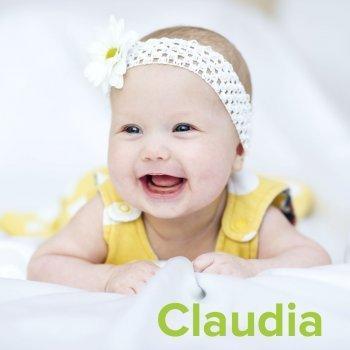 Dibujo del nombre Claudia para colorear, pintar e imprimir