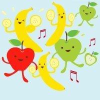 Apples and bananas. Canción para aprender inglés con los niños