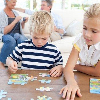 Juegos caseros para niños hiperactivos
