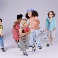 Avances en la estimulación de niños con discapacidad