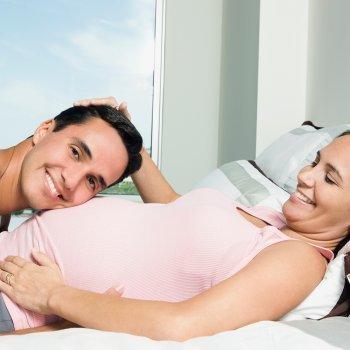 Sexo hasta el último mes del embarazo