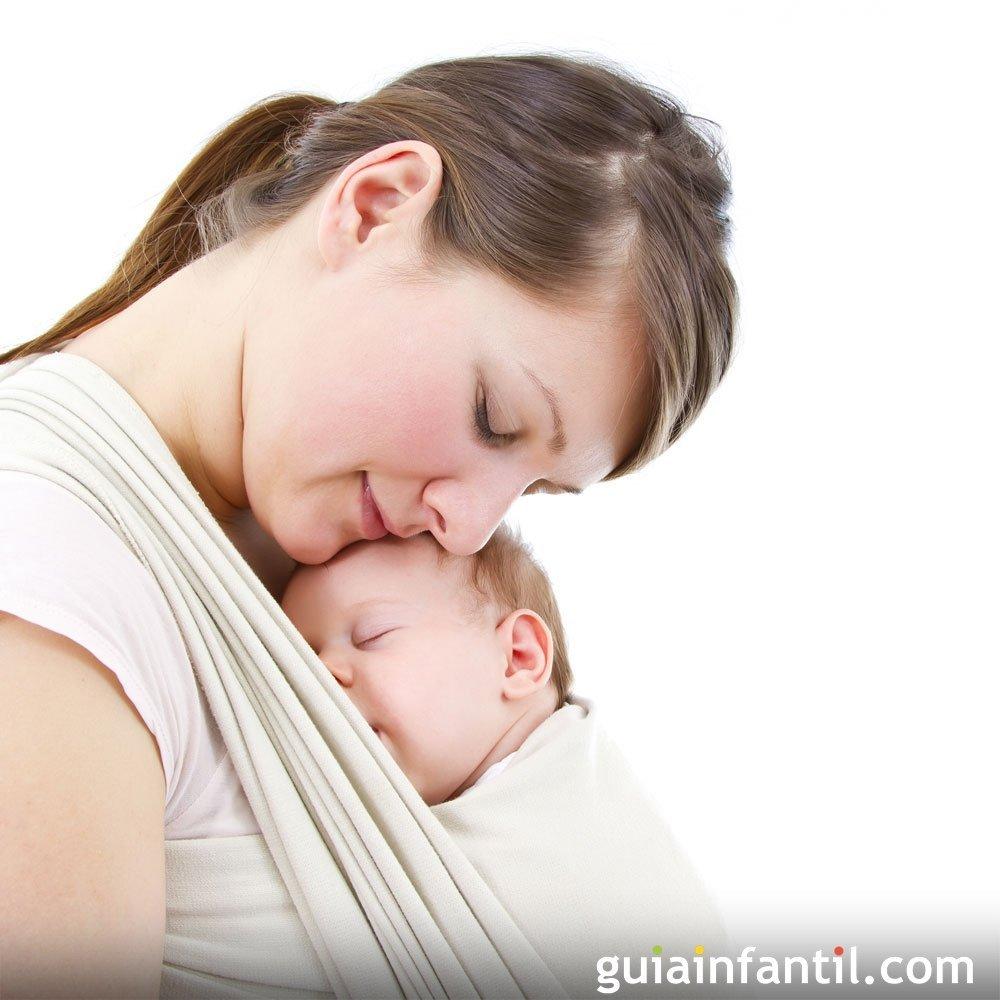 Una manera cómoda y segura de llevar a los bebés