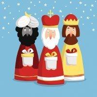 La noche de la llegada de los Reyes Magos