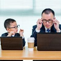 Por qué los niños no quieren ser como sus padres